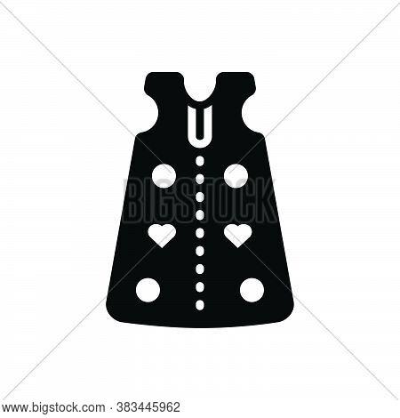 Black Solid Icon For Sleep-sack Sleep Sack Cloth Dress Fashion Garment Baby-cloth Body-suit Infant