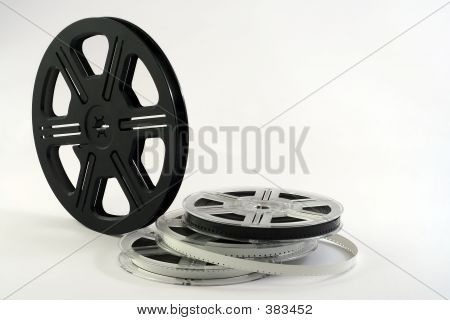 Film reels backgound