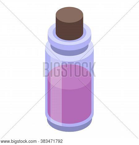 Aromatherapy Essential Oils Icon. Isometric Of Aromatherapy Essential Oils Vector Icon For Web Desig