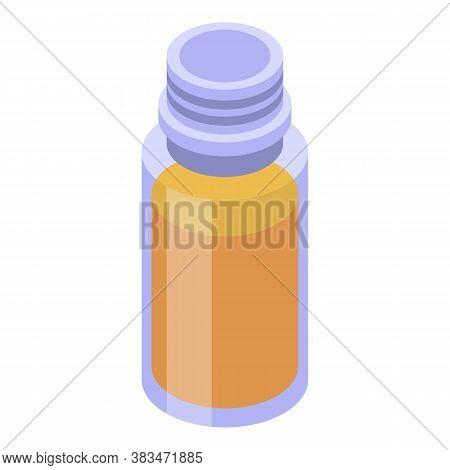 Potion Essential Oils Icon. Isometric Of Potion Essential Oils Vector Icon For Web Design Isolated O