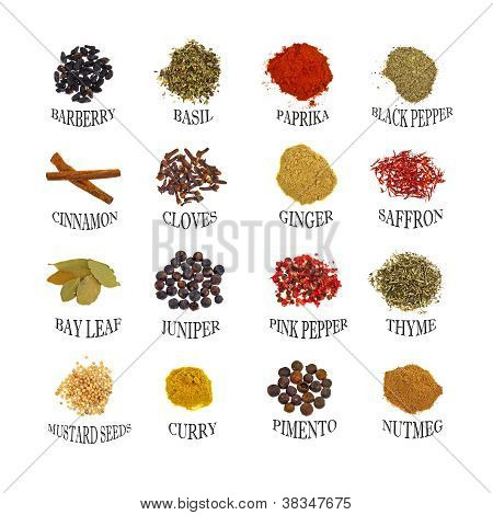 Named Spices