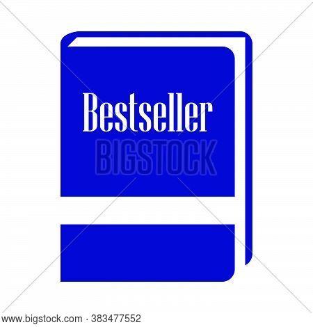 Bestseller Book Icon. Flat Color Design. Vector Illustration.