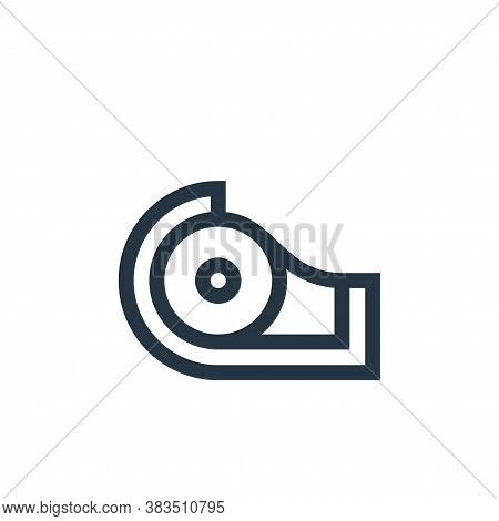 scotch tape icon isolated on white background from handcrafts collection. scotch tape icon trendy an