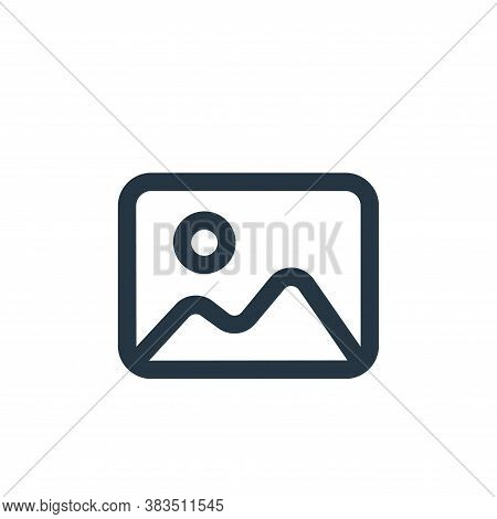 image icon isolated on white background from interface collection. image icon trendy and modern imag