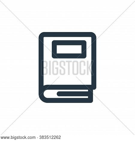 book icon isolated on white background from school collection. book icon trendy and modern book symb