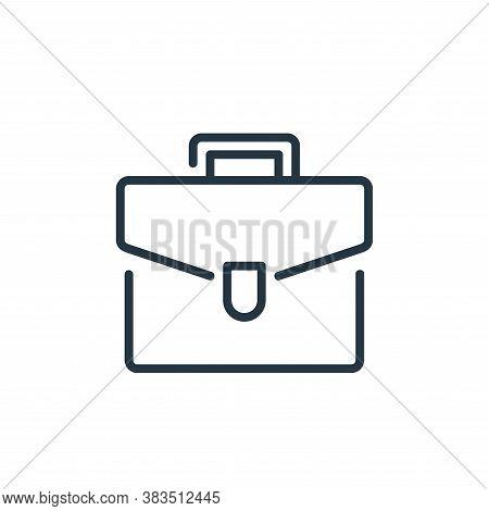 portfolio icon isolated on white background from seo and marketing collection. portfolio icon trendy