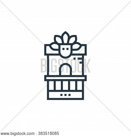 ticket icon isolated on white background from brazilian carnival collection. ticket icon trendy and