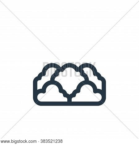 bush icon isolated on white background from animal and nature collection. bush icon trendy and moder