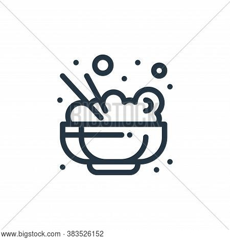 rice icon isolated on white background from food collection. rice icon trendy and modern rice symbol