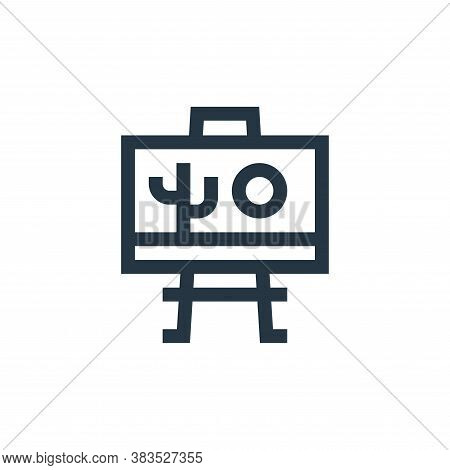 draw icon isolated on white background from handcrafts collection. draw icon trendy and modern draw