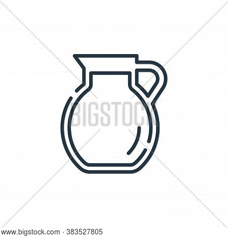 water jar icon isolated on white background from restaurant collection. water jar icon trendy and mo