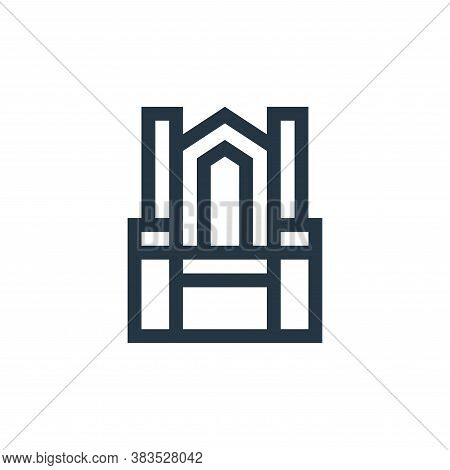 throne icon isolated on white background from fairytale collection. throne icon trendy and modern th