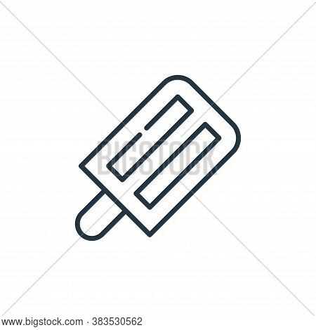 popsicle stick icon isolated on white background from cinco de mayo collection. popsicle stick icon