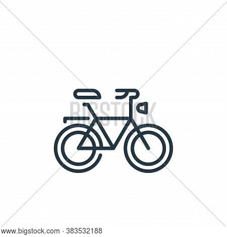 bicycle icon isolated on white background from holland collection. bicycle icon trendy and modern bi