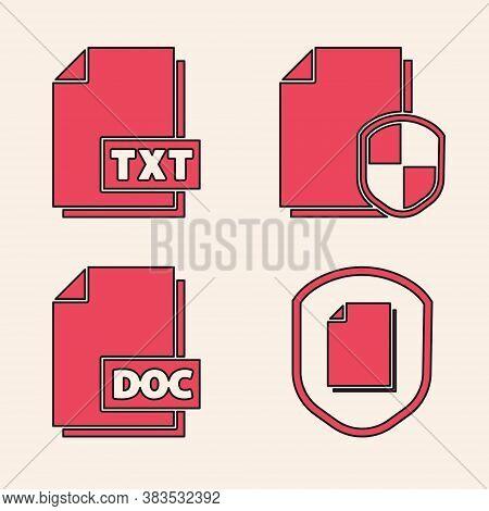 Set Document Protection Concept, Txt File Document, Document Protection Concept And Doc File Documen