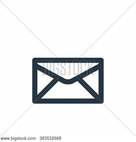 unread icon isolated on white background from email ui collection. unread icon trendy and modern unr