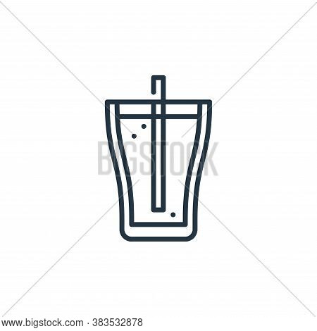 soda icon isolated on white background from celebration collection. soda icon trendy and modern soda