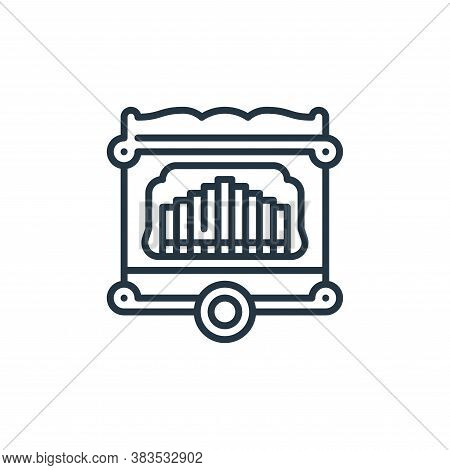 barrel organ icon isolated on white background from holland collection. barrel organ icon trendy and