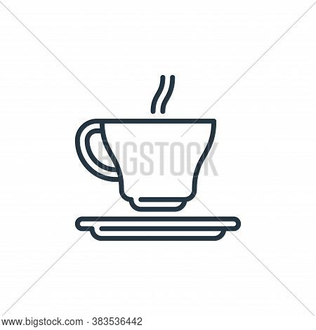 tea icon isolated on white background from celebration collection. tea icon trendy and modern tea sy