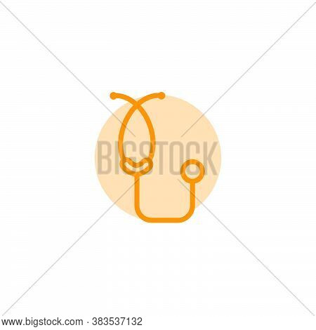Illustration Vector Graphic Of Stethoscope Icon Template