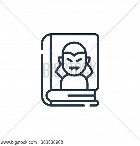 horror icon isolated on white background from books and literature collection. horror icon trendy an