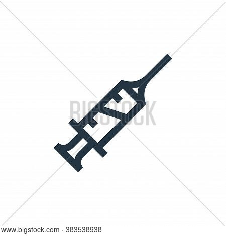 syringe icon isolated on white background from nursing collection. syringe icon trendy and modern sy