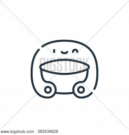 helmet icon isolated on white background from baseball collection. helmet icon trendy and modern hel