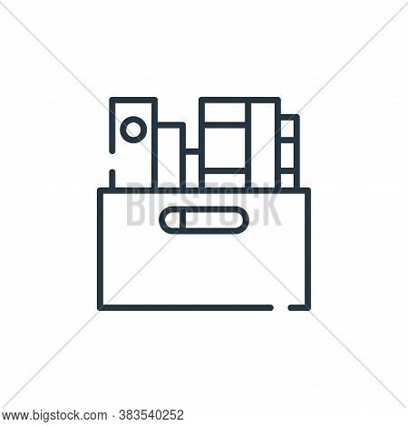 book icon isolated on white background from books and literature collection. book icon trendy and mo