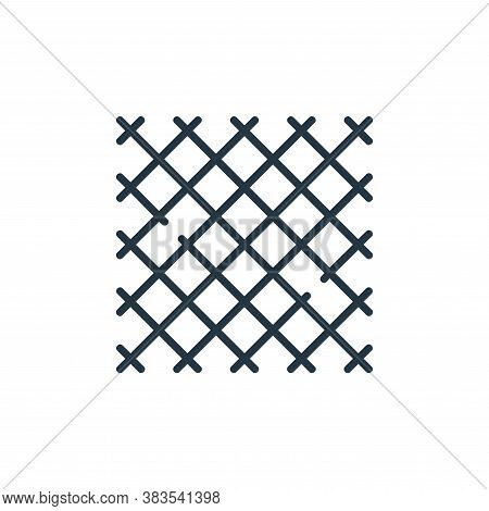 tablecloth icon isolated on white background from restaurant collection. tablecloth icon trendy and