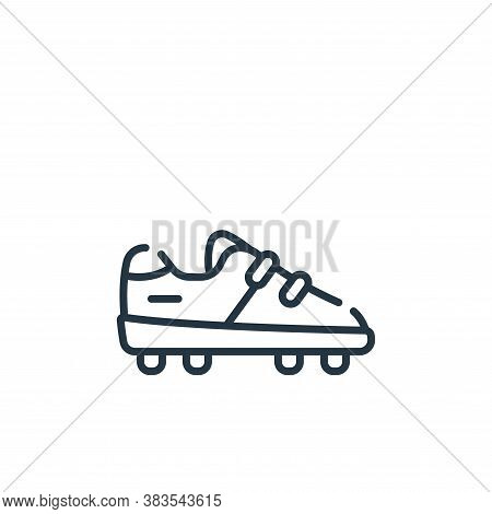 shoes icon isolated on white background from baseball collection. shoes icon trendy and modern shoes