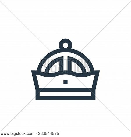 crown icon isolated on white background from fairytale collection. crown icon trendy and modern crow