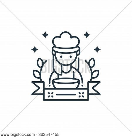 chef icon isolated on white background from labor day collection. chef icon trendy and modern chef s