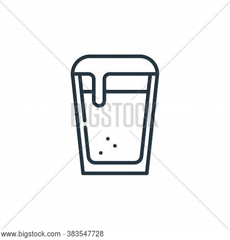 beer icon isolated on white background from cinco de mayo collection. beer icon trendy and modern be