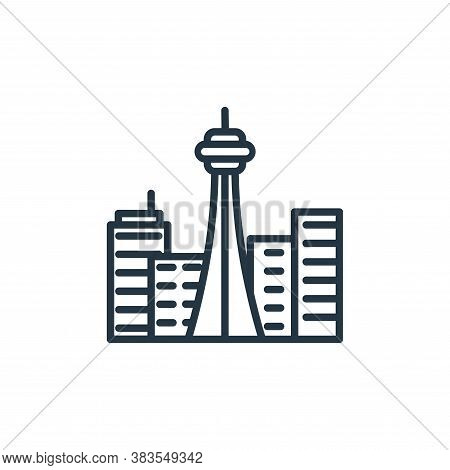tower icon isolated on white background from building collection. tower icon trendy and modern tower