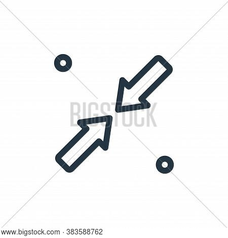 minimize icon isolated on white background from miscellaneous collection. minimize icon trendy and m