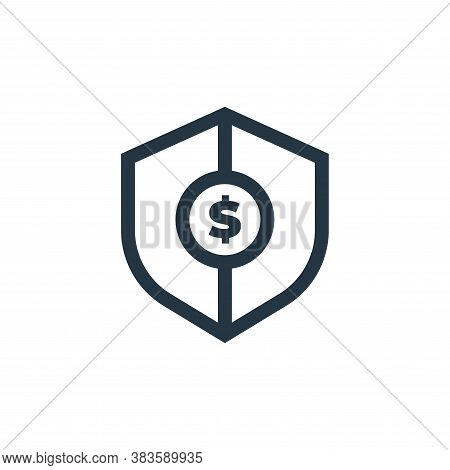 secure payment icon isolated on white background from economy collection. secure payment icon trendy