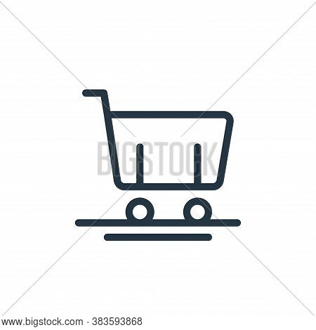 cart icon isolated on white background from miscellaneous collection. cart icon trendy and modern ca