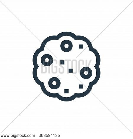 cookie icon isolated on white background from baby shower collection. cookie icon trendy and modern
