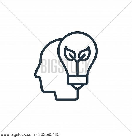 idea icon isolated on white background from seo and website collection. idea icon trendy and modern