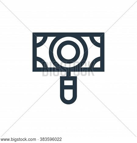 searching icon isolated on white background from economy collection. searching icon trendy and moder