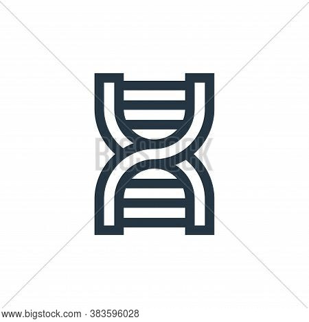 dna icon isolated on white background from education collection. dna icon trendy and modern dna symb