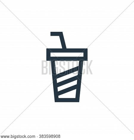 soft drinks icon isolated on white background from music festival collection. soft drinks icon trend