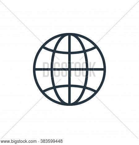 internet icon isolated on white background from computer collection. internet icon trendy and modern