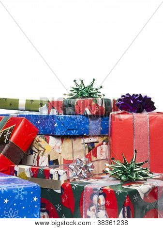 Heap Of Christmas Presents