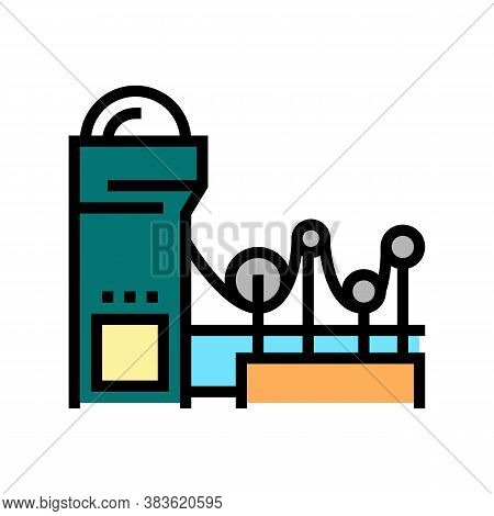 Paper Making System Color Icon Vector. Paper Making System Sign. Isolated Symbol Illustration