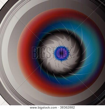 Colorful Eye Camera Lens