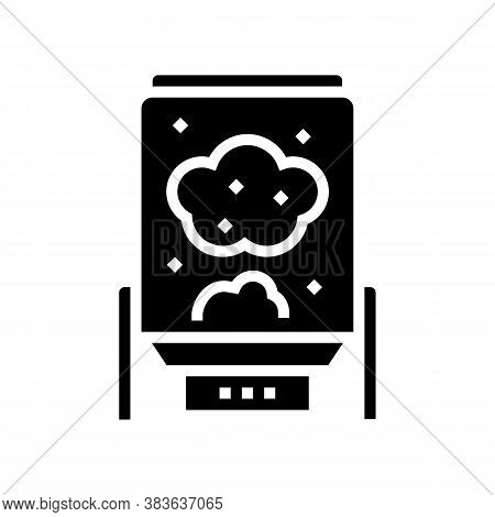 Digester System Glyph Icon Vector. Digester System Sign. Isolated Contour Symbol Black Illustration