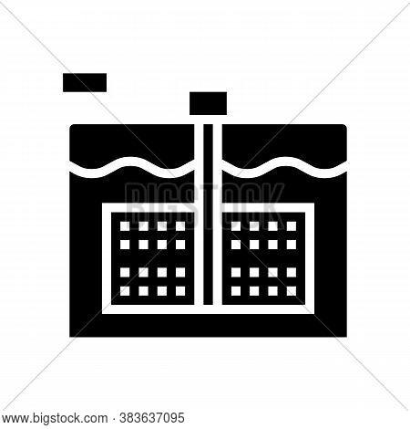 Paper Make Equipment Glyph Icon Vector. Paper Make Equipment Sign. Isolated Contour Symbol Black Ill