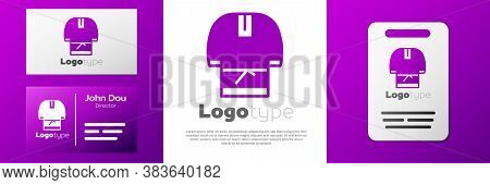 Logotype Kosovorotka Is A Traditional Russian Shirt Icon Isolated On White Background. Traditional N