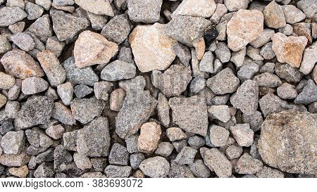 Background Of Stones. Heap Of Stones. Loft Style In The Interior, Grunge. The Old Stones. To Do The